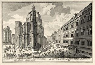 Wien: Peterskirche beim Graben