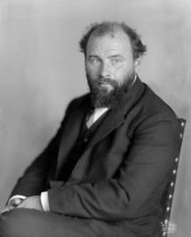 Portrait Gustav Klimt (1)