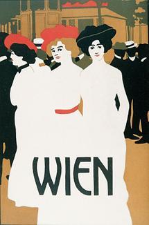 Plakatentwurf von Anton Kling