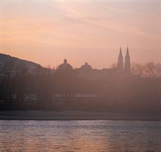 Blick über die Donau