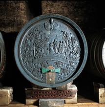 Weinfass im Klosterneuburger Stiftskeller