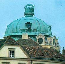 Kuppel in Klosterneuburg