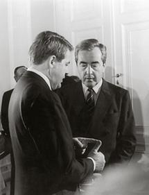 Franz Vranitzky und Alois Mock (1)