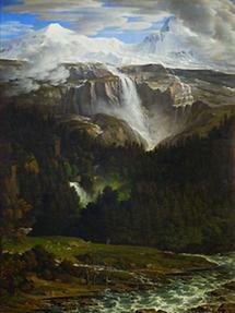 Schmadribach Wasserfall bei Lauterbrunn