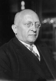 Portrait Erich Friedrich Ludwig Koch-Weser