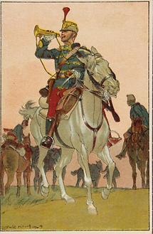 Bildpostkarte. Erster Weltkrieg. Propaganda (4)