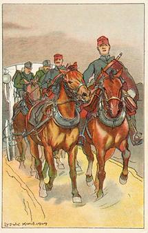 Bildpostkarte. Erster Weltkrieg. Propaganda (1)