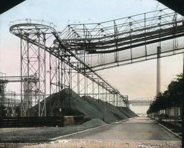 Förderbahn im Gaswerk Simmering