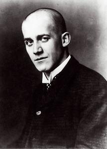 Oskar Kokoschka in jungen Jahren