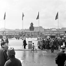1. Mai: kommunistische Veranstaltung