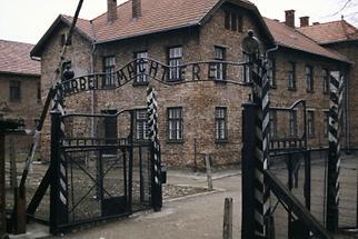 Eingang Konzentrationslager Auschwitz