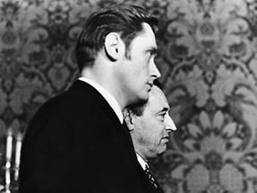 Androsch und Koren bei der Amtsübergabe