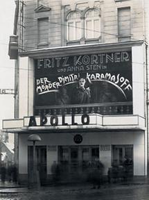 Das Apollo-Kino in Wien