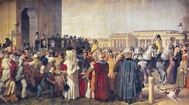 Kaiser Franz Joseph I. : Ausfahrt aus der Hofburg