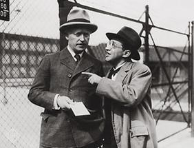 Fritz Grünbaum und Werner Krauß