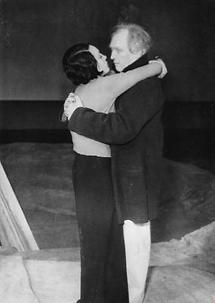 Elisabeth Bergner und Werner Krauß
