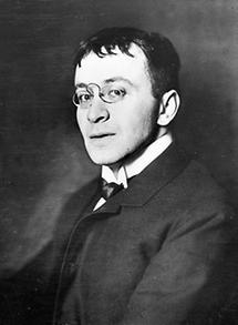 Portrait Karl Kraus