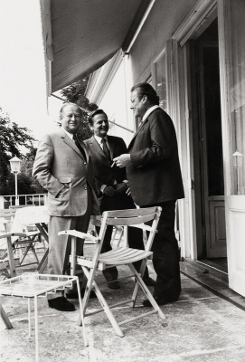 Bruno Kreisky, Olof Palme und Willy Brandt, © IMAGNO/ÖNB/Harry Weber