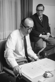 Friedrich Gulda und Georg Kreisler