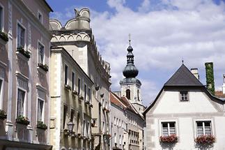 Die Altstadt von Krems