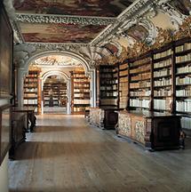 Bibliothek des Benediktinerstifts in Kremsmünster
