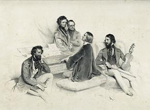 Eine Matinée bei Liszt