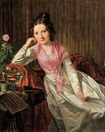 Die Schauspielerin Therese Krones
