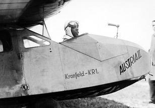 Flugpionier Robert Kronfeld