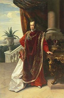 Kaiser Ferdinand I. im Vliesornat