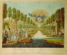 Kaiser  Joseph's Ankunft  in Elysium