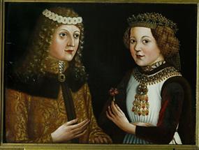 """Verlobungsportrait von  Ladislaus """"Postumus"""""""