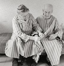 Paar im Altersheim Lainz (1)