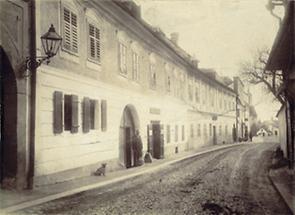 Lambach: Die Salzburger Straße