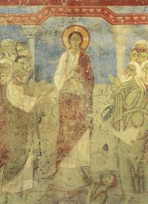 Jesus mit seinen Jüngern