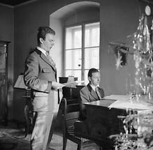Thomas Bernhard und Gerhard Lampersberg (1)