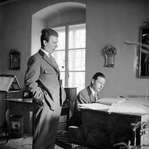Thomas Bernhard und Gerhard Lampersberg (2)