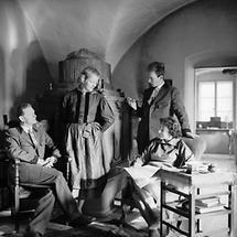 Thomas Bernhard, Gerhard und Maja Lampersberg