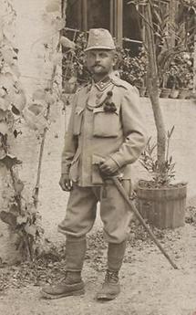 Soldat des k. k. Landsturms