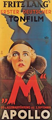 Filmplakat: Fritz Lang