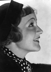 Die österreichische Schauspielerin Lotte Lang