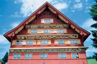 Rheintalhaus im Bregenzerwald