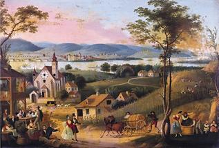 Weinlese in Langenzersdorf am Bisamberg