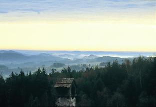 Landschaft im nördlichen Waldviertel