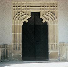 Gotisches Kirchentor