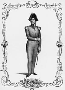 Josef Lanner, Kapellmeister des II. Bürger-Regiments in Wien
