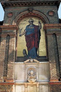 Minervabrunnen am MAK in Wien