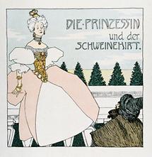 Titelseite des Buches von H. C. Andersen