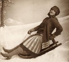 Lotte Lehmann als Christine