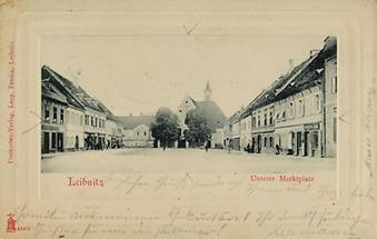 Marktplatz in Leibnitz