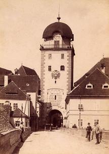 Stadttor von Leoben in der Steiermark